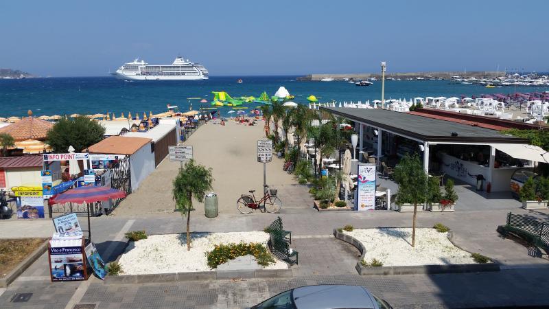 """MEGAS IN """"appartamentinaxos.  it """"  FRONT SEA IN CENTRAL AREA - Image 1 - Giardini Naxos - rentals"""