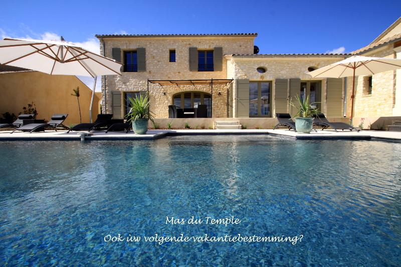 Mas du Temple - Garrigues Sainte Eulalie - Your next holiday destination ? - NEW Luxury house in the South, near Nimes - Garrigues-Sainte-Eulalie - rentals