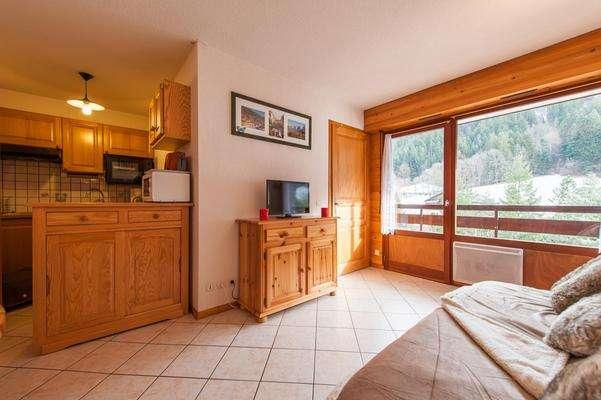 ALPINA C 2 rooms + sleeping corner 6 persons - 1 - Image 1 - Le Grand-Bornand - rentals