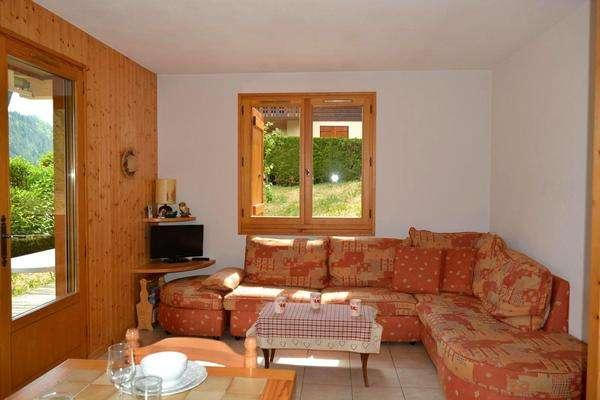 POINTE DE CHOMBAS 2 rooms + small bedroom 4 persons - Image 1 - Le Grand-Bornand - rentals