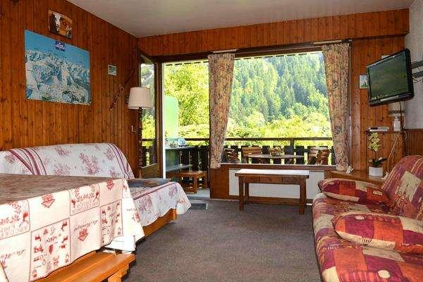 BOURDAINE Studio + sleeping corner 4 persons - Image 1 - Le Grand-Bornand - rentals