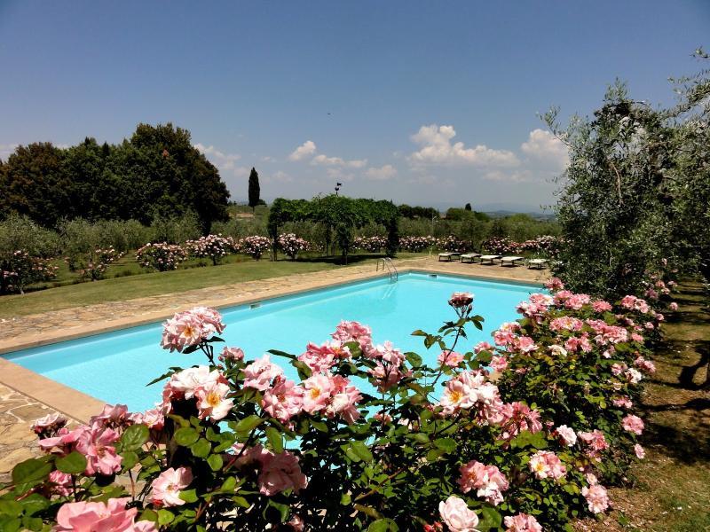 7 bedroom Villa in Tavarnelle Val di Pesa, Chianti, Tuscany, Italy : ref 2294080 - Image 1 - Marcialla - rentals