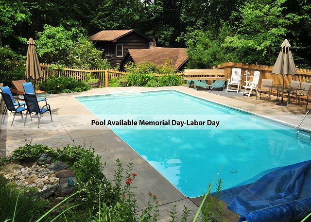 Outdoor Pool - Beautifully Warm & Inviting Log Home Bursting with Character! - Swanton - rentals