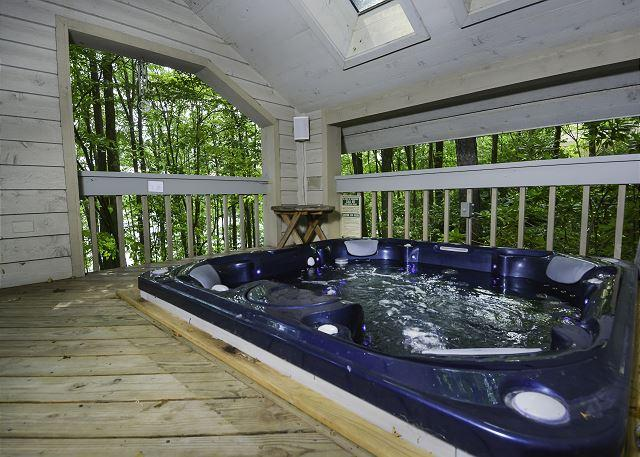 Hot Tub - Alluring 3 Bedroom home featuring premiere lakefront! - Oakland - rentals