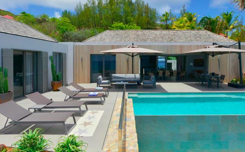Villa Roc E Mar at Toiny Bay, St. Barth - Private Pool, Oceanview - Image 1 - Saint Barthelemy - rentals