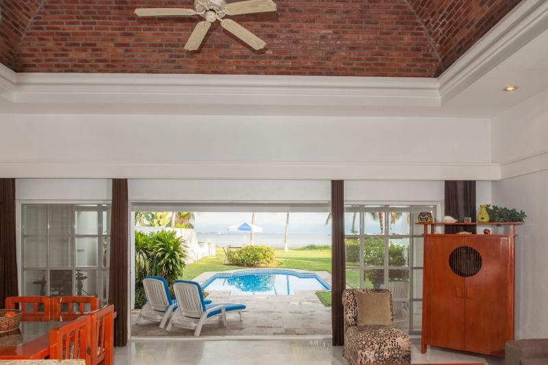 Beachfront Private Villa Private Pool and Yard - Image 1 - Puerto Vallarta - rentals