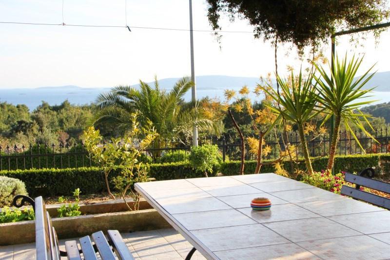 A3(4+2): terrace view - 7887  A3(4+2) - Seget Donji - Seget Donji - rentals