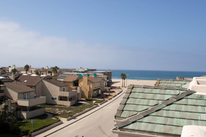 View from the top deck of the house - Mandalay Shores Beach House Rental (Furnished) - Oxnard - rentals