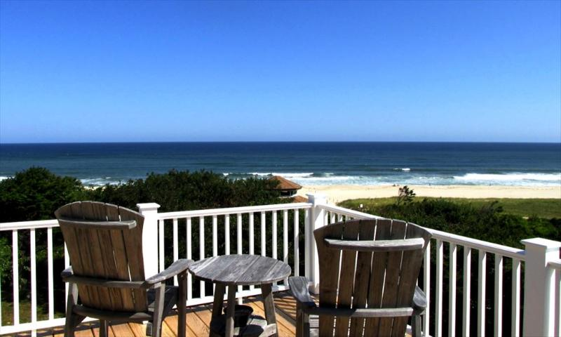 Nauset Beach from deck - The White Heron 18082 - East Orleans - rentals