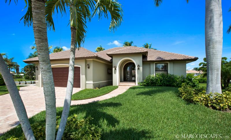 PERSIAN CAY - Modern Waterfront Island Pool Home, Desirable West Exposure !! - Image 1 - Marco Island - rentals