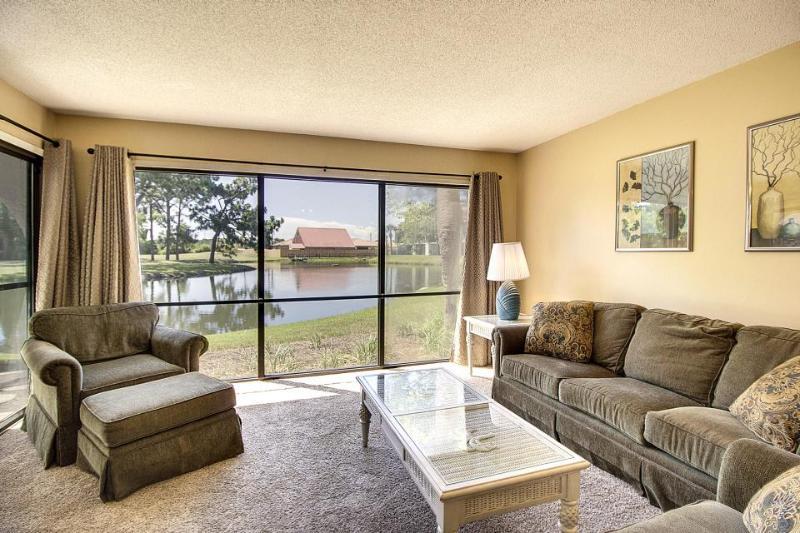 Quiet ground-floor condo w/pools, hot tubs, golf on-site - Image 1 - Panama City Beach - rentals