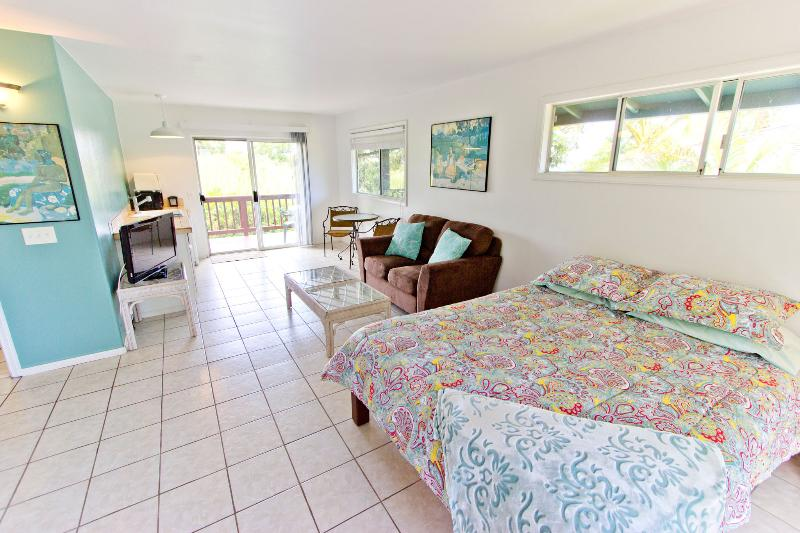 Pu'u Koa 6 – Studio living area - Private Studio; Budget Friendly; Tropical Home - Haiku - rentals
