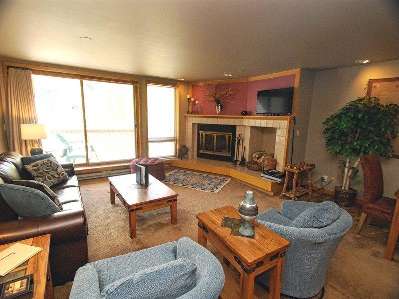 Liftside Condominiums 203 - New appliances, new decor, ski area views, walk to slopes! - Image 1 - Keystone - rentals