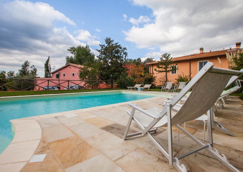 Fattoria I Ciliegi 1 bed Apartment (Pool & Tennis) - Image 1 - Reggello - rentals