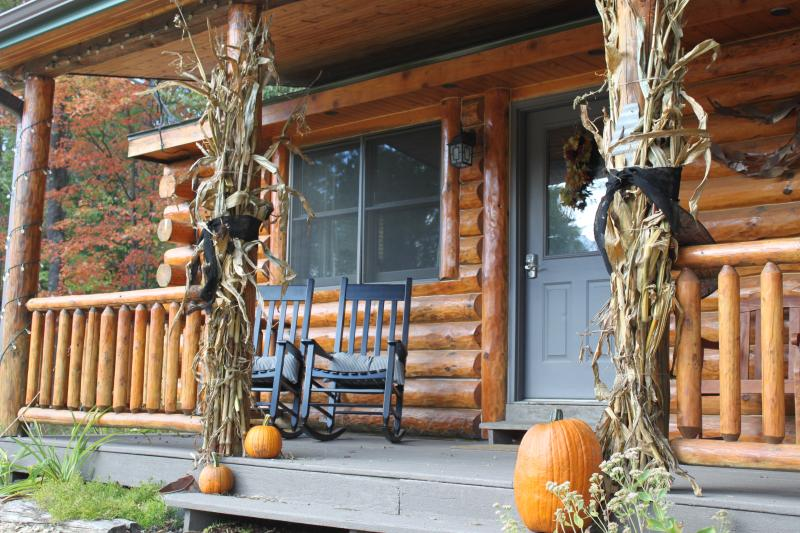 Fall has arrived! - Log Cabin with Gas Stove - Pet friendly - New Lisbon - rentals