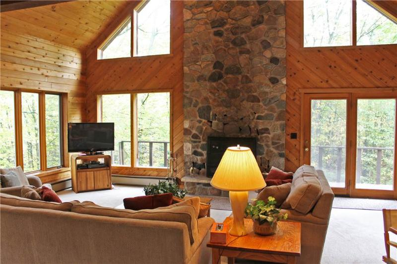 Located at Base of Powderhorn Mtn in the Western Upper Peninsula, A Large Home in Serene Wooded Setting - Image 1 - Ironwood - rentals