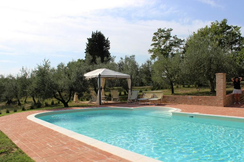 5 bedroom Villa in Certaldo, San Gimignano, Volterra and surroundings, Tuscany - Image 1 - Lucardo - rentals