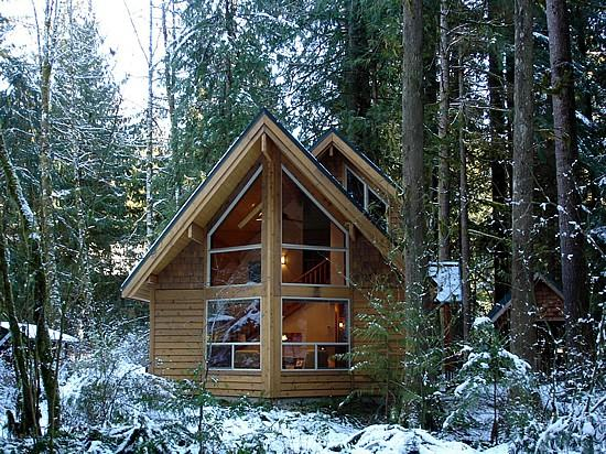 04SL - 04SL Pet Friendly Cedar Cabin with a Private Hot Tub - Glacier - rentals