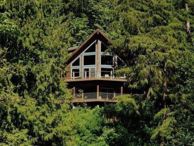 07MF - 07MF Spectacular Lakefront Chalet with a Private Hot Tub - Maple Falls - rentals