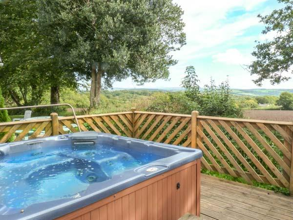 3 DARTMOOR LODGE, pet friendly, country holiday cottage, with hot tub in - Image 1 - Callington - rentals