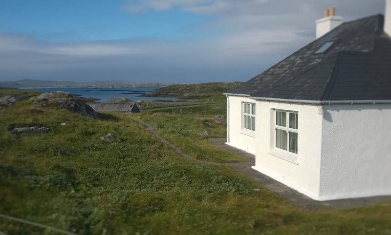 Sea Views from Atlantic View Cottage - Atlantic View Cottage Isle of Lewis. Sea View WiFi - Great Bernera - rentals