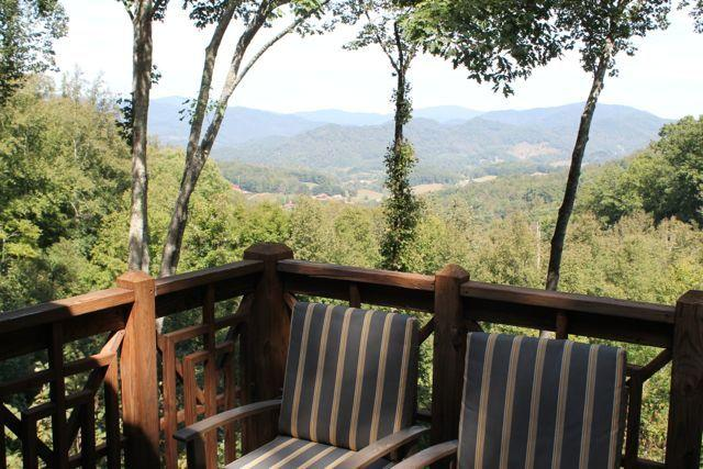 Amazing views from back deck - Mountain Air upscale condo Views!!! 3/3 perfect - Burnsville - rentals