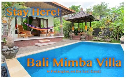 Bali's Magical East Coast Green House - Image 1 - Padangbai - rentals