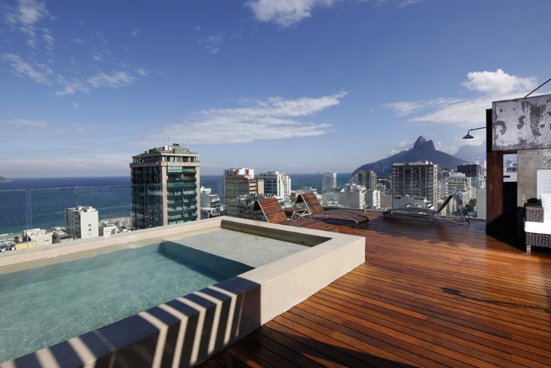 Rio012 - Penthouse in Ipanema with pool and brethtaking views - Image 1 - Ipanema - rentals