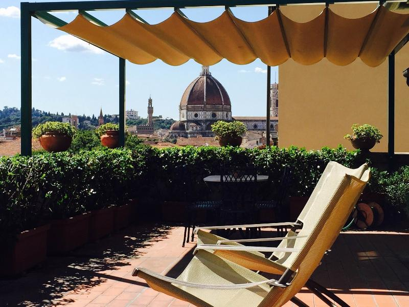 terrace - Luxury Penthouse Accademia in Florence, Italy - Florence - rentals