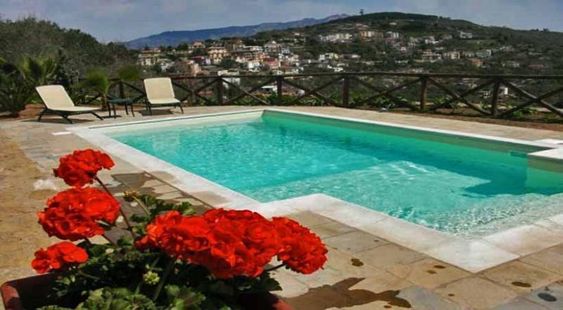 01 Villa Amore pool area - VILLA AMORE Massa Lubrense - Sorrento area - Massa Lubrense - rentals