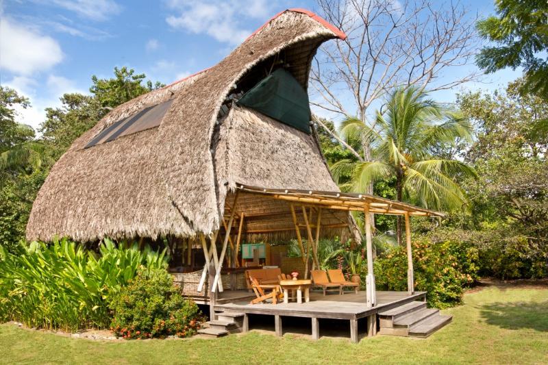 Front view - Osa Beachfront Bamboo House - Puerto Jimenez - rentals
