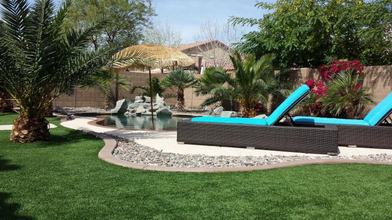 lounge - Private Relaxing Resort Home Year Round Heated Pool - Goodyear - rentals