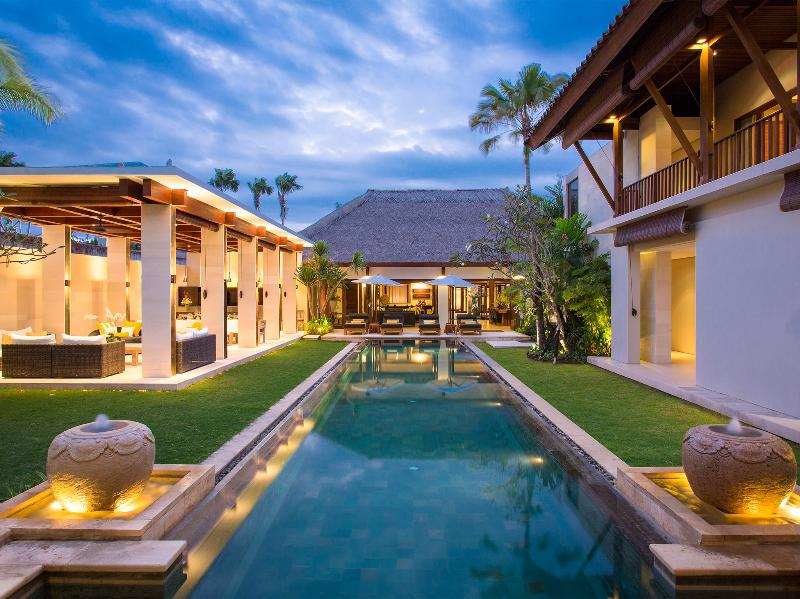 Vila Lilibel - The villa lit up - Villa Lilibel - an elite haven - Seminyak - rentals