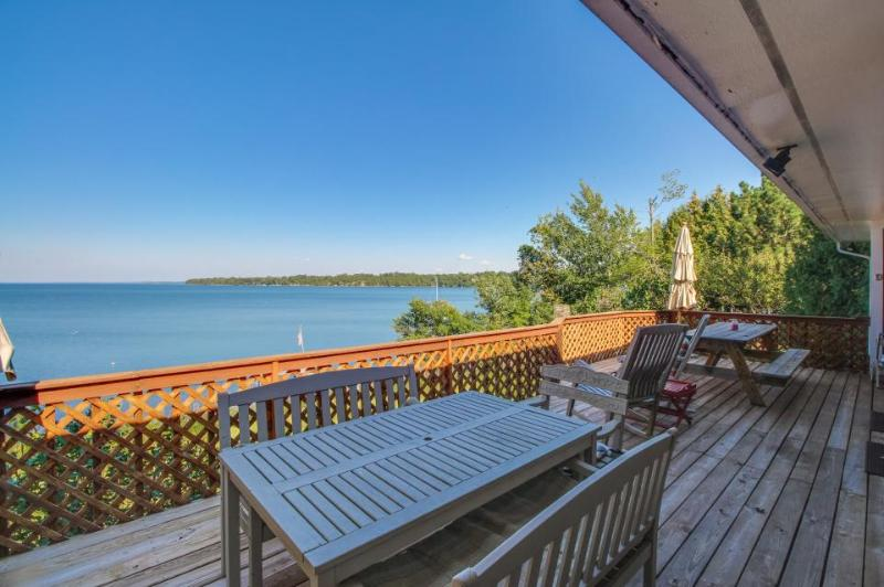 Lakefront property with private hot tub, dock, and views! - Image 1 - South Hero - rentals