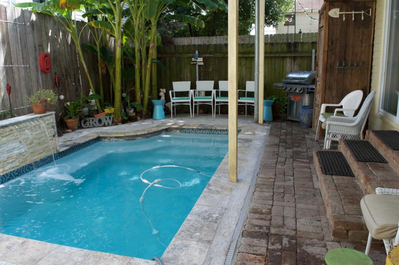 French Quarter Style Pool - Uptown Gem ~ With a Pool - New Orleans - rentals