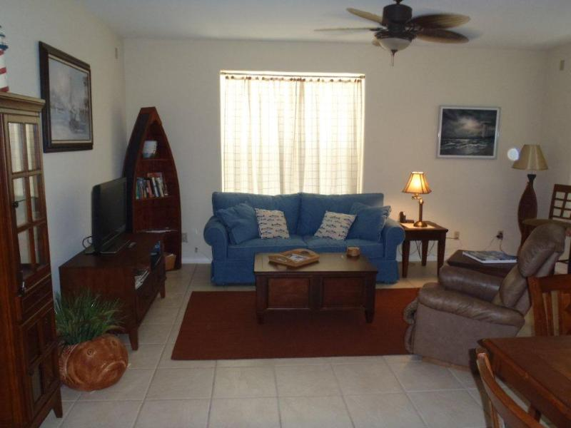 A cozy and bright living area is ideal for your group. - Oleander Place #104 - South Padre Island - rentals