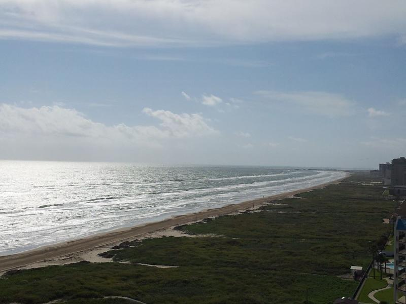 Main balcony view facing South East - Aquarius Penthouse #2 - South Padre Island - rentals