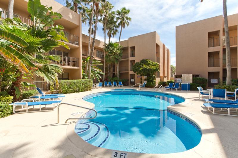 Pool Area - Beachview #101 - South Padre Island - rentals