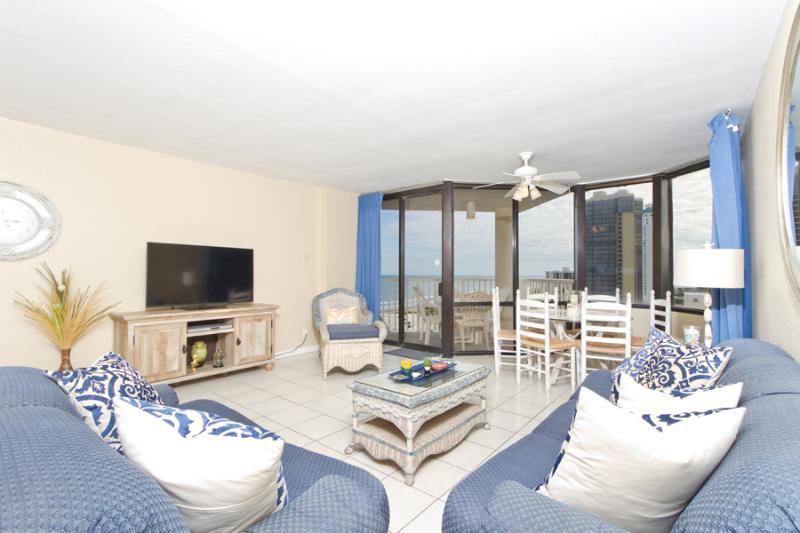 Living Room - Saida Royale #9144 - South Padre Island - rentals
