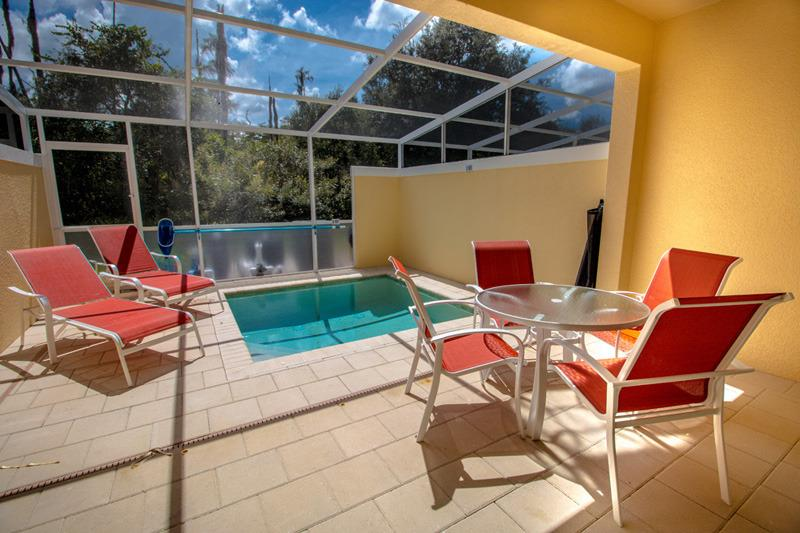 Pool Area - 3 Bed 3 Bath Pool Home + Clubhouse (1525-SEREN) - Orlando - rentals