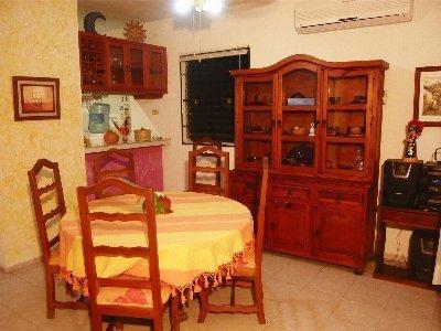 livingroom - Rustic Hacienda Lodge  ,  Condo El Cuyo - El Cuyo - rentals