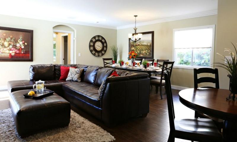 Family Room and Dining Room - Destination #11 - Anaheim - rentals
