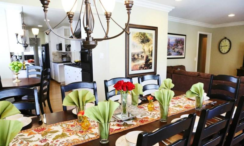 Dining Room & Kitchen - Destination #25 by Anaheim Vacation House - Anaheim - rentals