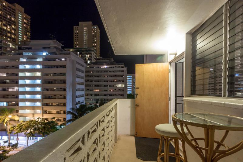 Night View from Patio - Home Sweet Home - Honolulu - rentals