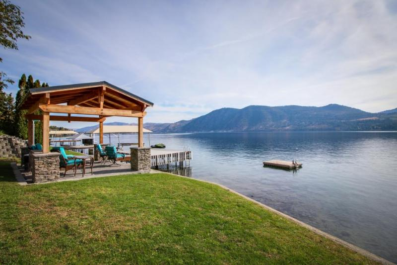 Stylish lakefront home w/private hot tub, gazebo & boat dock - Image 1 - Manson - rentals