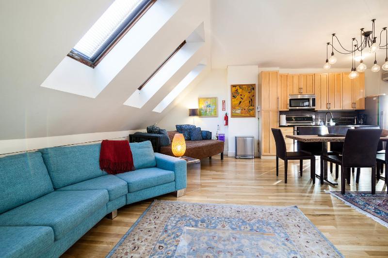 Living Room - Penthouse Apartment, Grand Duplex, Manhattan - New York City - rentals