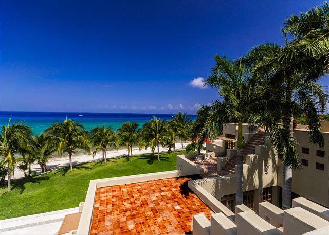 Endless Beach - 23 Acre Beachfront Estate. 7 BR Villa. Private Pool & Tennis Court. Secluded! - Cozumel - rentals