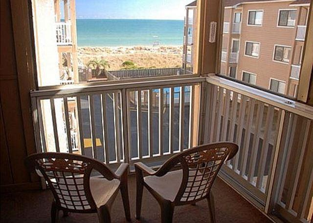 Sand Pebbles A26 - Enjoy great ocean views in this lovely oceanfront condo - Image 1 - Carolina Beach - rentals