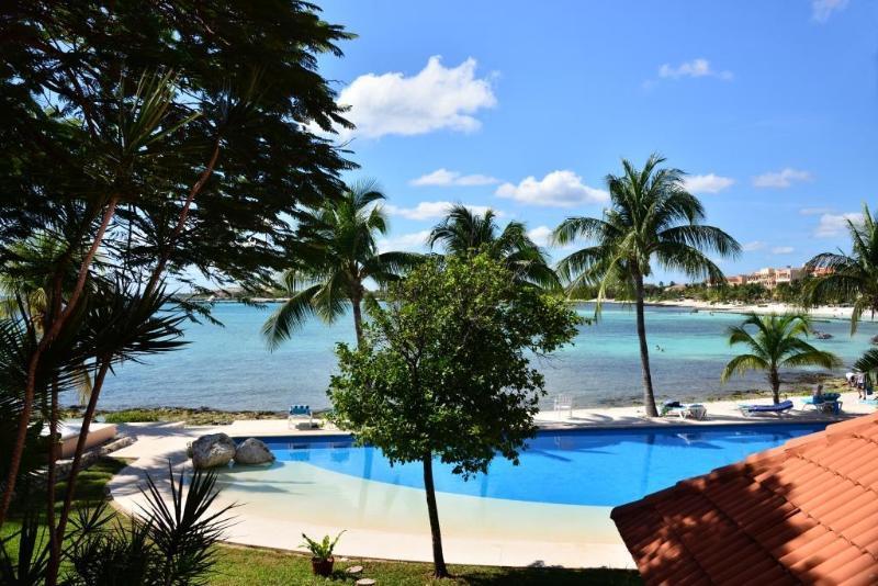 View from the Terrace condo Chac C101 - Condo Amalia Chac C101 Beach View - Puerto Aventuras - rentals