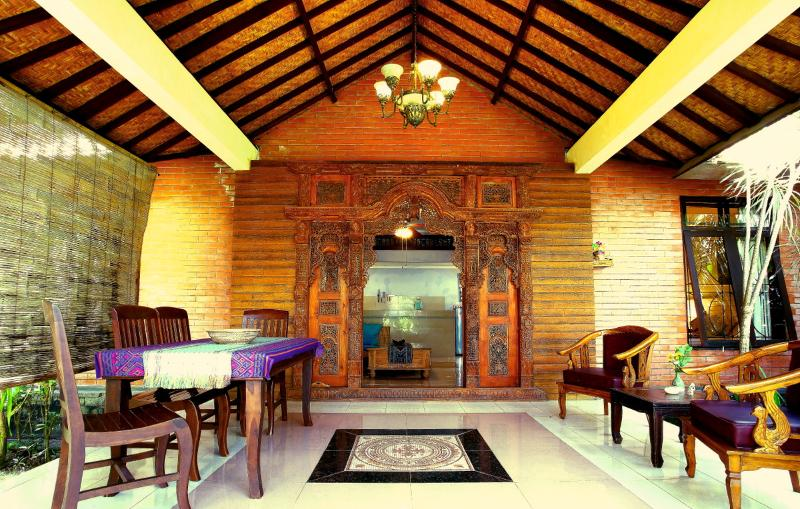 Cottage entrance - Mango Lodge, Cottage 3 - Jimbaran - rentals